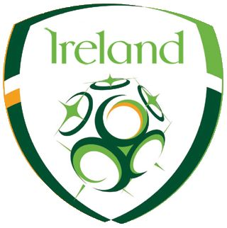Ireland Football Team Badge - Republic of Ireland national football (soccer) team