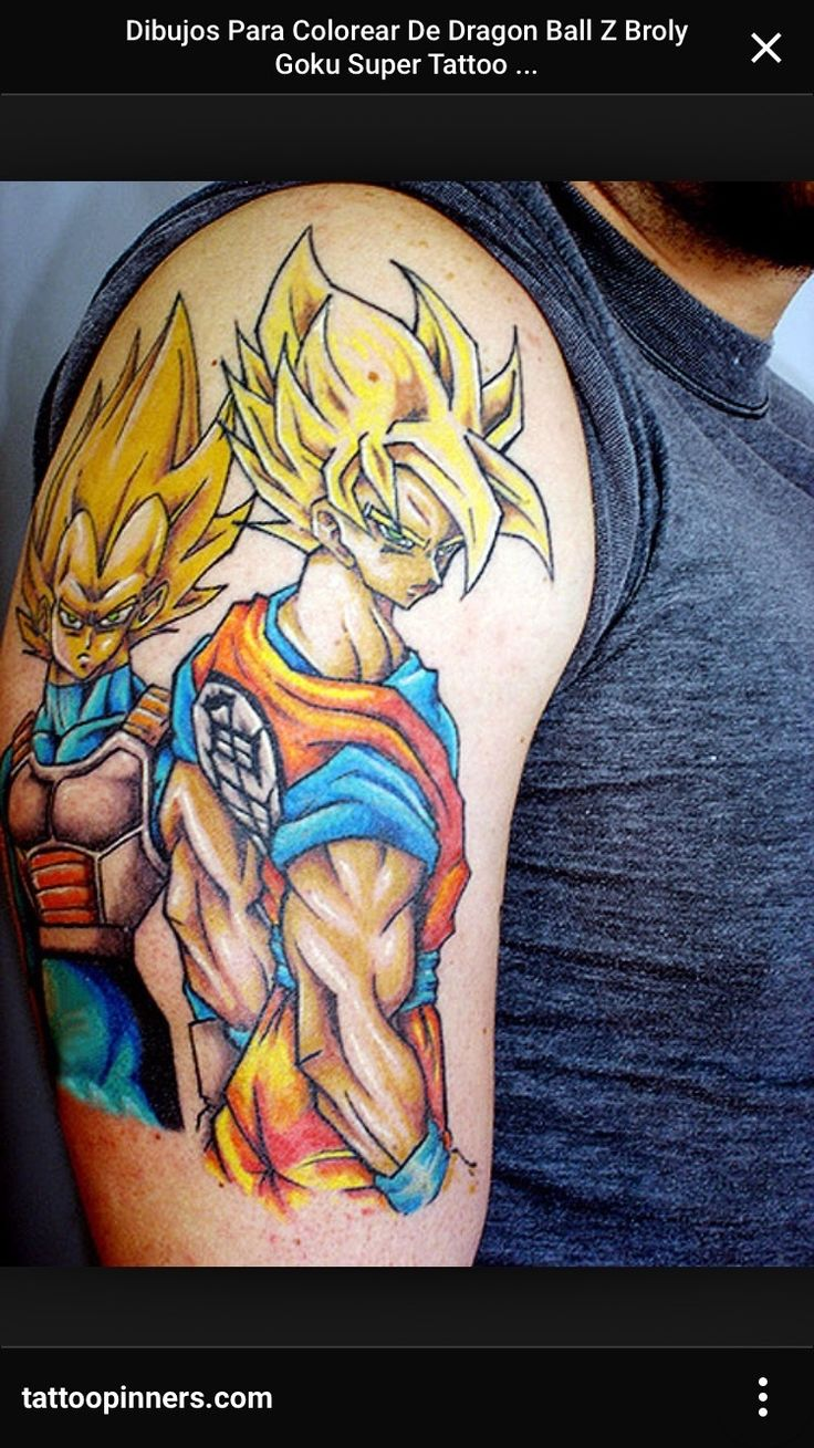 3d tattoos that will boggle your mind bizarbin - Goku Dragon Ball Search Tatoo Images Research