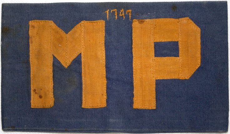 Militaire Politie armband Ned. Indie 1946-1950
