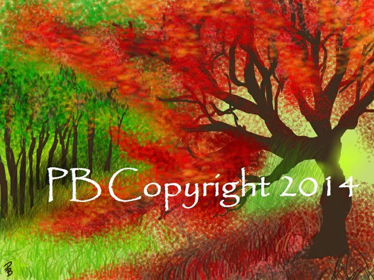 Un dipinto realizzato da una mia amica  http://scripty79.wordpress.com/2014/03/11/aelven-saga-e-la-collaborazione-digitale-di-paolab/
