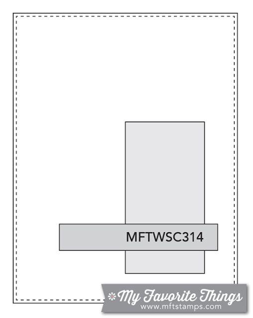 MFT Card Challenges: Wednesday Sketch Challenge - Sketch 314  #mftstamps