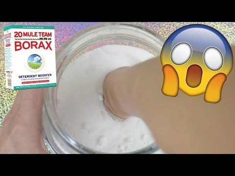 EXPOSING BORAX FOR SLIME! I PUT MY HAND IN BORAX POWDER! DO NOT TRY THIS AT HOME! - YouTube