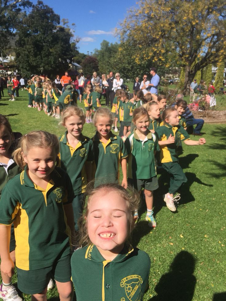 Year 1 excited about our Cross Country run.
