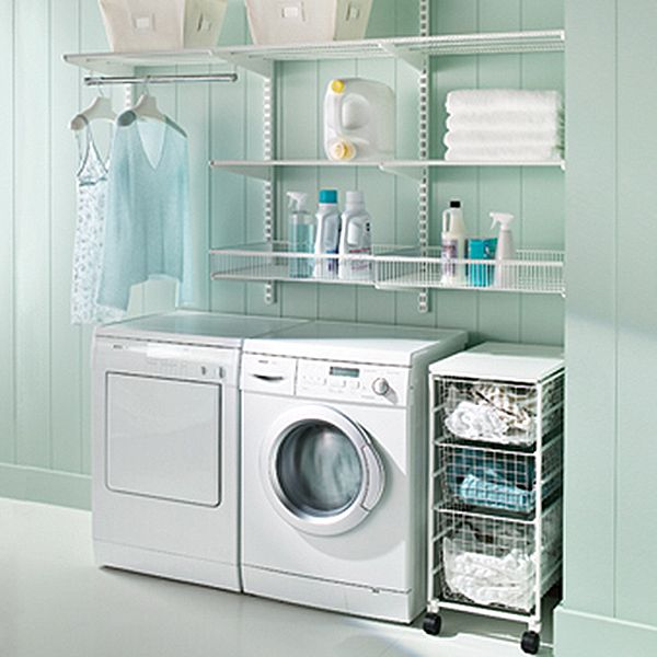 Take The Chore Out Of Doing Laundry With Elfa Modern Laundry