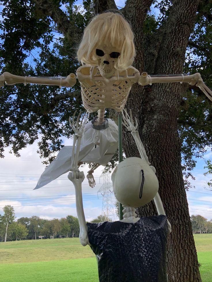 Halloween image by g h KMart Halloween yard displays