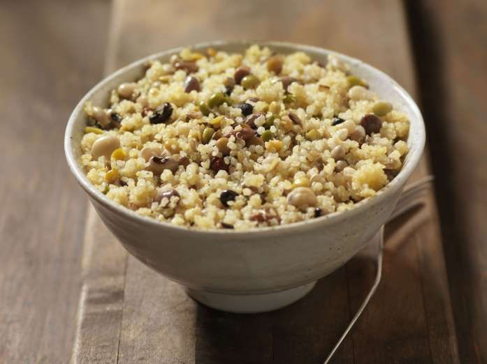 Quinoa and Bean Salad - Lauri Patterson/Getty Images