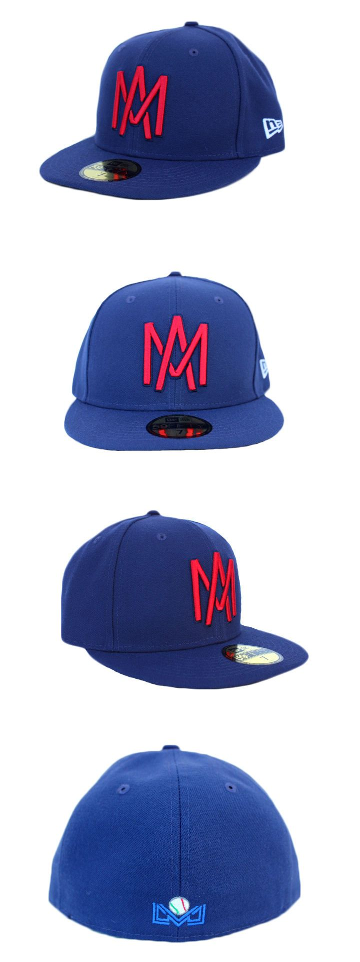 Baseball-Other 204: Aguilas De Mexicali Lmb New Era 59Fifty Navy -> BUY IT NOW ONLY: $49.95 on eBay!