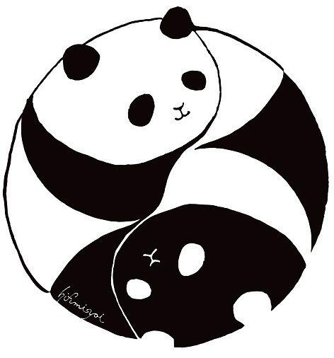 『yin&yang panda/ヒフミヨイ hifumiyoi』