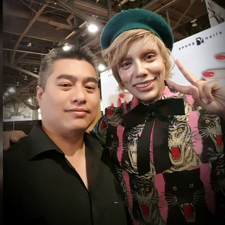 With Max Estrada at 2017 International Beauty Show in Vegas. IMPULSE NAIL STUDIO by ANDY, San Diego, CA. Instagram@andyhaidinh. Online booking at StyleSeat.com/andyhaidinh  #thenailprince #andyhaidinh #nailartist #nails #acrylicnails #gelnails #nailart #nailsmagazine #VIETsalon #nailpromagazine #Aiibeauty #AiiEducator #EZFlow #IBD #ChinaGlaze #VietNAILunited #naildesigns #nailgasm #nailswag #nailpromote #instanails #nailsoftheday #ImpulseNailStudiobyAndy #SanDiegonailsalons #SDnails…