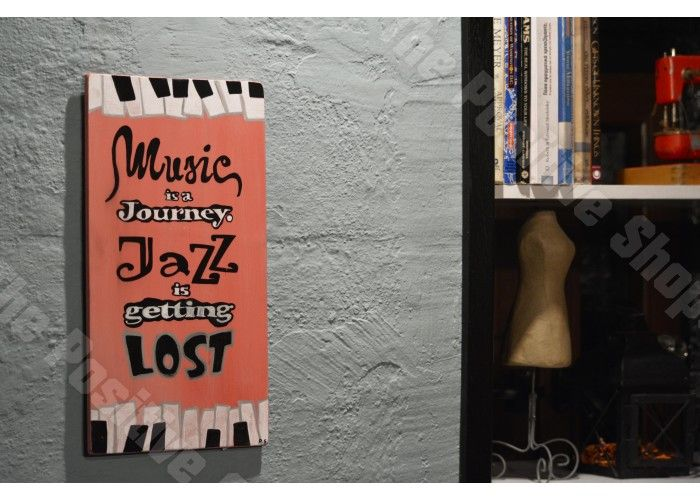 Music is a journey Jazz is getting lost