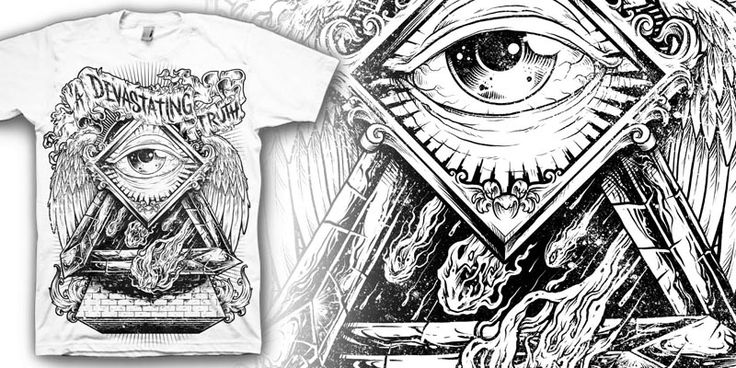"""INEVITABLE"" t-shirt design by markusmanson"
