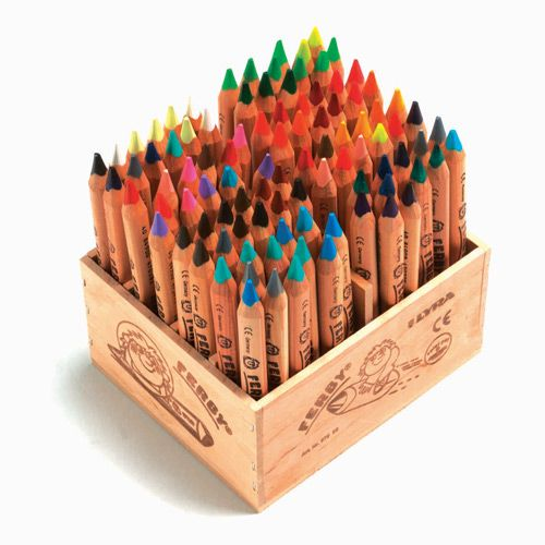 Lyra Ferby Crayons - Love the idea of these... don't know if my boys are old enough to appreciate how cool they are.....