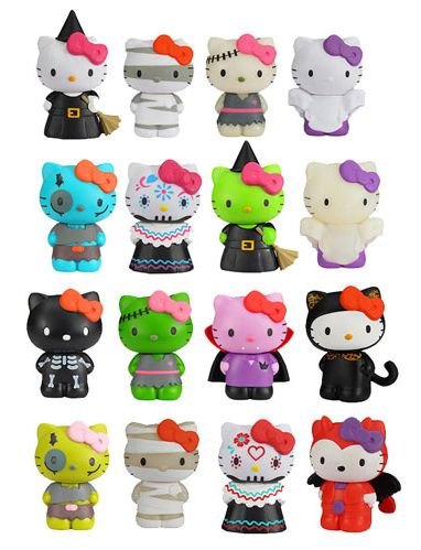 Hello Kitty Horror Mystery Minis  vinyl blind box series