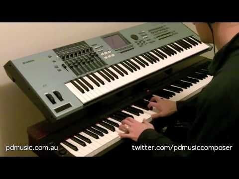 Return To The Country by Paul Doolan, Music Composer, on Yamaha P-155 Digital Piano and Motif XS