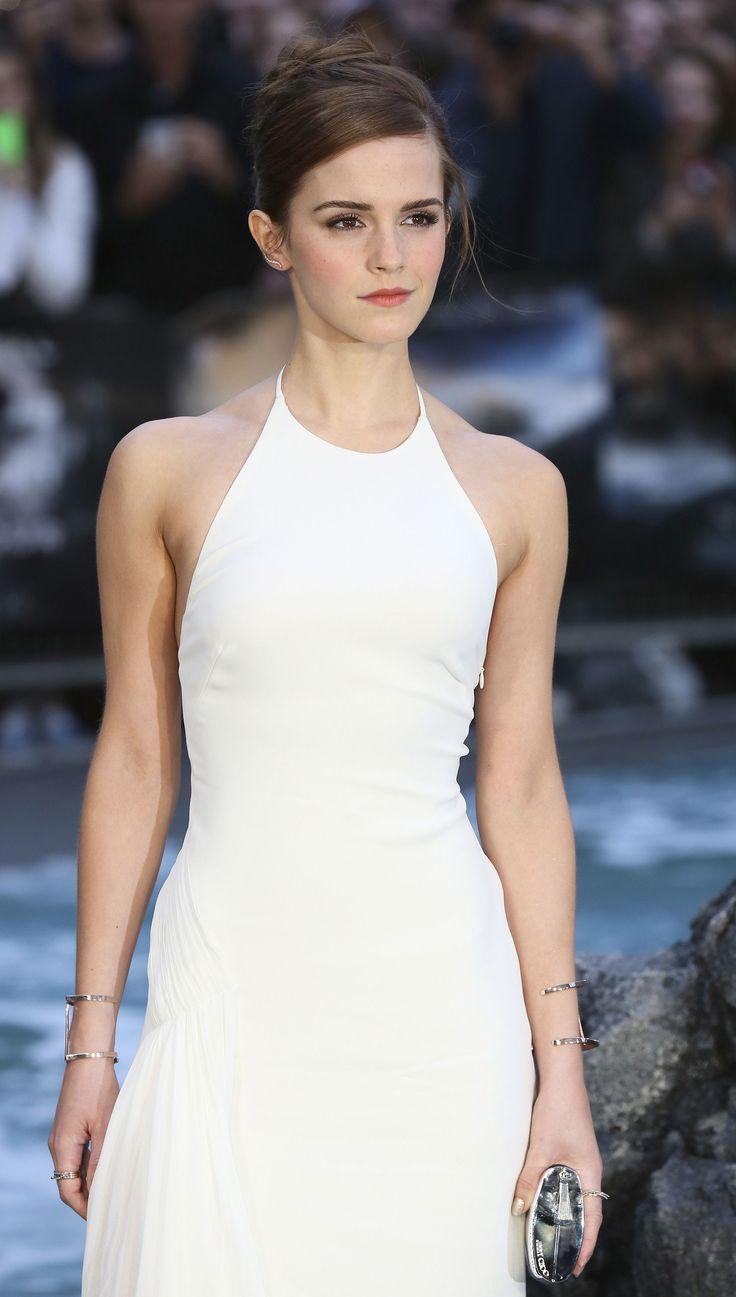 White dress emma watson - Emma Watson The Height And Beauty In One Picture Emma Watson Pinterest Emma Watson Celebrity And Celebs