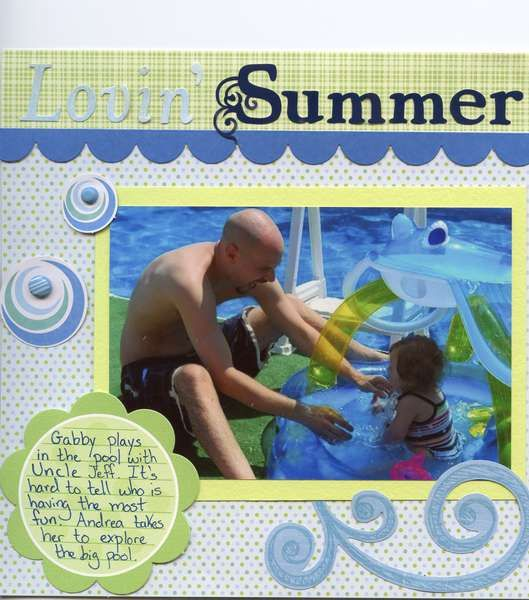 Layout: Lovin' Summer