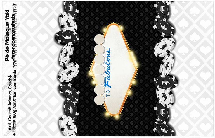 Candy bar wrapper--- http://fazendoanossafesta.com.br/2015/09/kit-festa-las-vegas-poker-gratis-para-imprimir.html/