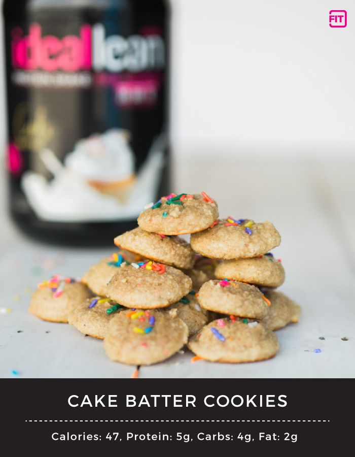 With less than 50 calories per cookie, you really don't have to feel too guilty eating these. But try just eating one... I dare you.