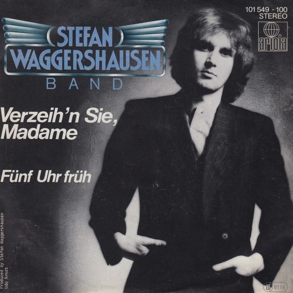 """Verzeih'n Sie, Madame"" performed by Stefan Waggershausen & Co. German Selection for Eurovision 1980."