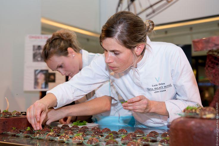 #Pâtisserie avec Lucie Pichon du Vista Palace dans votre centre commercial NICETOILE