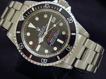 Vintage #Rolex Double-Red Sea-Dweller Mark Iv