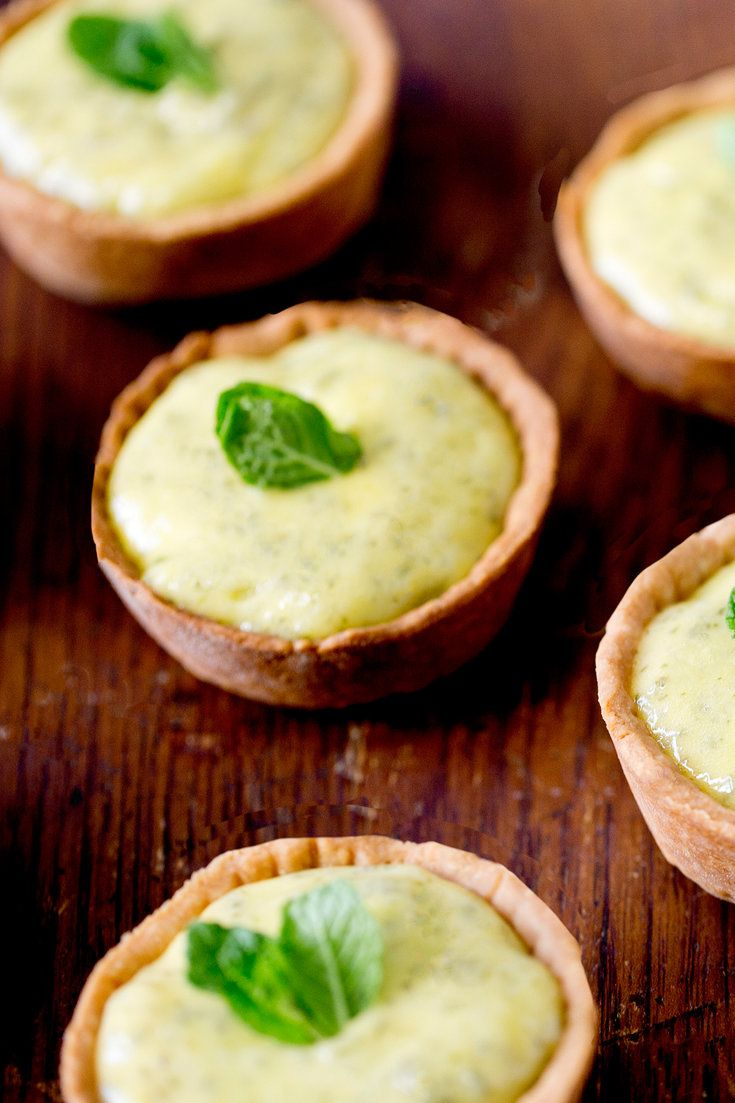 These small tarts, inspired by a mojito, are the perfect celebratory end to a meal: refreshing, light and boozy. (Photo: Rikki Snyder for The New York Times)