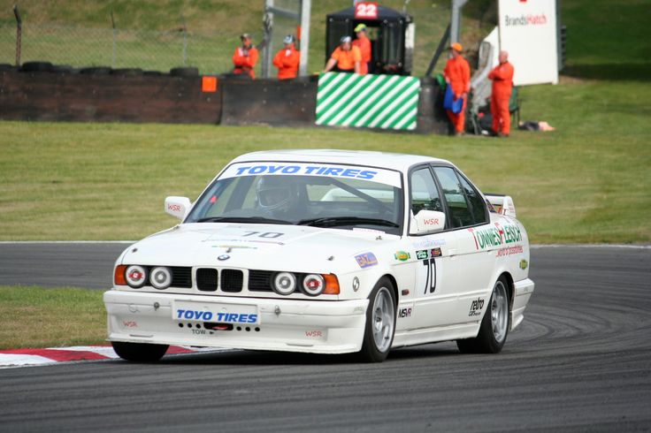 Bmw 5 Series E34 Race Car Bmw Pinterest