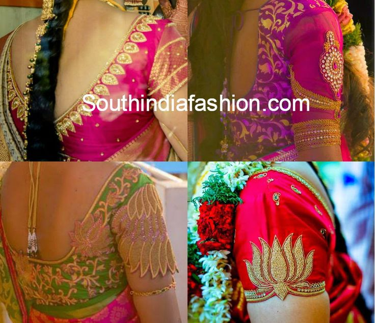 Blouse patterns for traditional silk sarees. Related PostsElegant Blouse Designs for Silk SareesSilk Saree Blouse DesignsMaggam Work Silk Saree Blosue DesignsBlouse Designs for Wedding Sarees