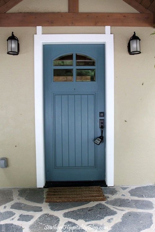 17 best images about home misc improvement on pinterest - Pictures of blue front doors ...