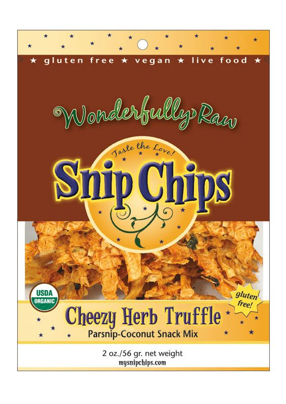 Step off potato chips! Snip Chips combine everything you love about a chip but without the guilt! #Organic #Parsnips & Organic #Coconut combined with our tasty coating of goodness. Make this Snip Chip the next big thing in healthy snacking.  Parsnips are high in vitamin C,E & K , high in fiber, omega3 and potassium.