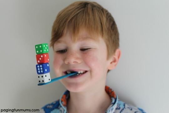 Minute to win it dice game! Some great game night ideas here!