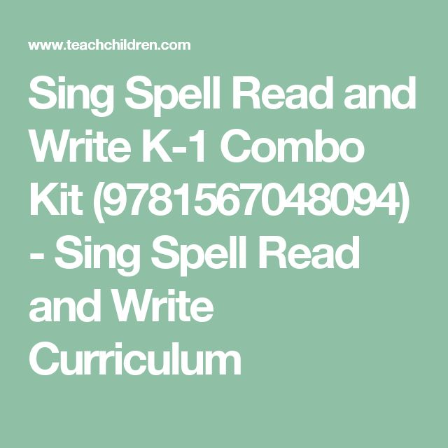 sing spell read and write preschool Sing, spell, read & write, sing, spell, read & write kindergarten student books,sing, spell, read & write 1st grade student books & components.