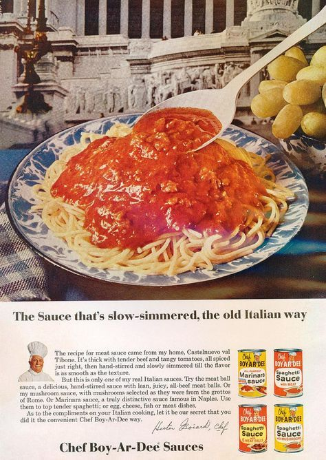 Chef Boyardee 1966 | by bluwmongoose