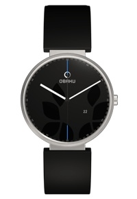 Obaku.By wearing an Obaku-Refugees watch you will not only help refugees reunite with their families, you will also own a piece of modern art.