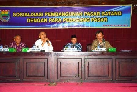 Posko Pengendalian Pembangunan Pasar Batang Dan Call Center Dibuka | Koran Online Pekalongan Dan Sekitarnya