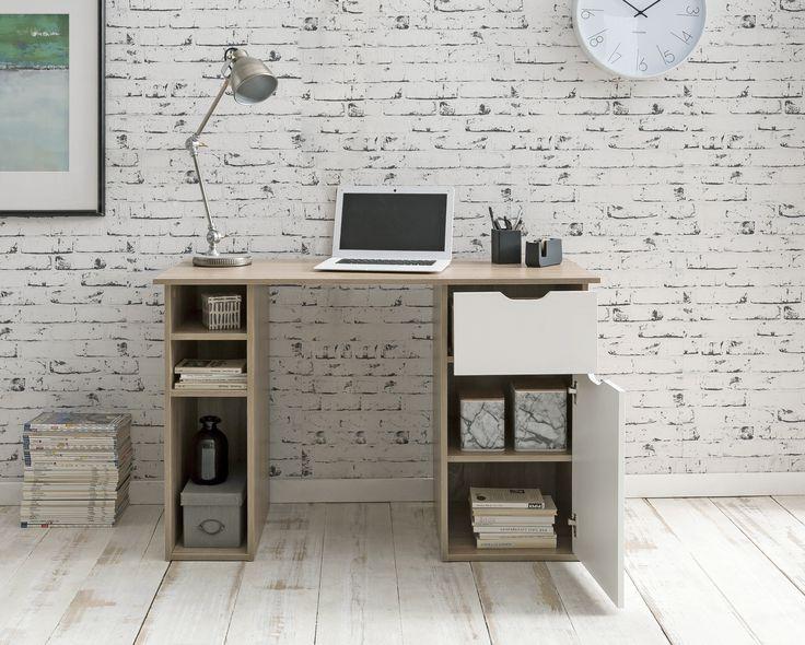Computertisch Modern Gaming Table Sekretär Büromöbel Weiß