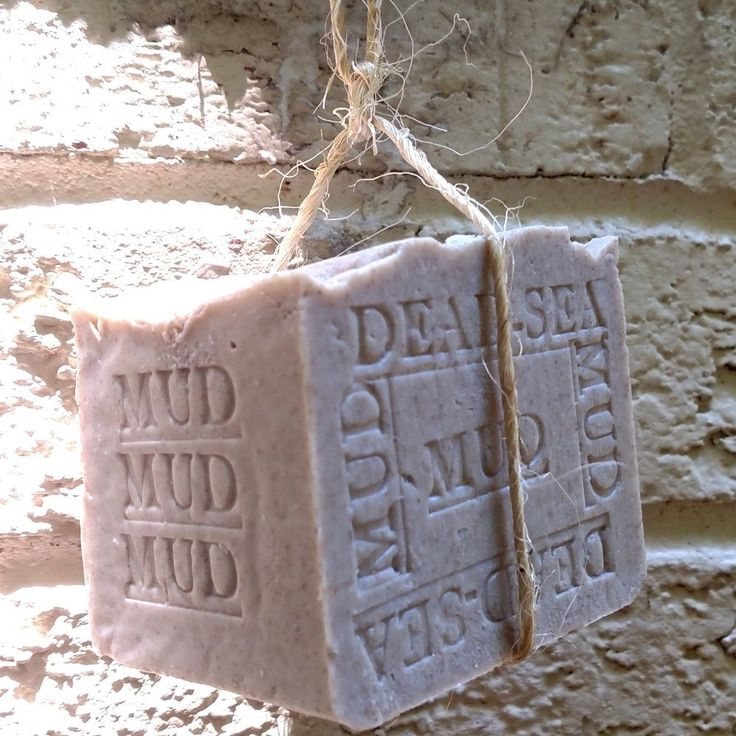 Dead Sea Mud. Bar with Dead Sea Salt (Exfoliate) 11 oz Handmade Soap. (Unscented) All Natural ** Remarkable product available now. : SkinCare homemade