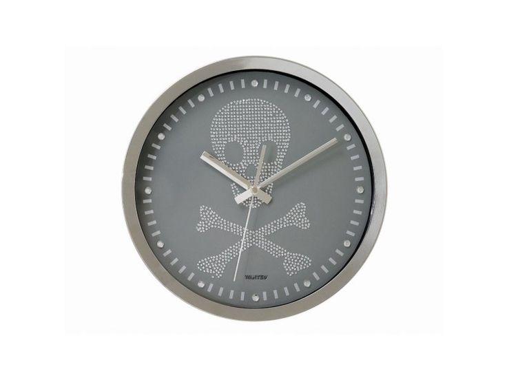Všetko pre modernú domácnosť | homedesignsk.sk - Nástenné hodiny Present Time Lebka 23cm