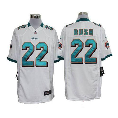 ... Nike Dolphins Reggie Bush White Mens NFL Game Jersey And Broncos  Demaryius Thomas 88 jersey ... 0af3a7e07