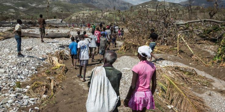 Hay un gran número de sobrevivientes del #HuracánMatthew con heridas infectadas y también hay casos de cólera. El equipo de MSF realizó 250 consultas médicas este fin de semana y está planeando evaluar las necesidades en las áreas montañosas cercanas durante los próximos días. #Haití
