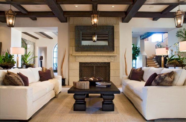 Balinese inspired contemporary zen living room serene for Zen inspired living room ideas