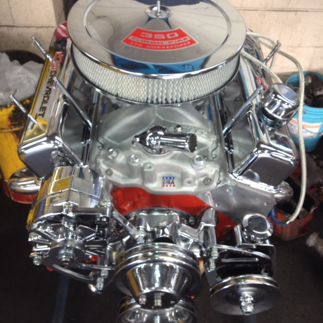 chevy  engine chromed  custom engines pinterest chevy engine  cars