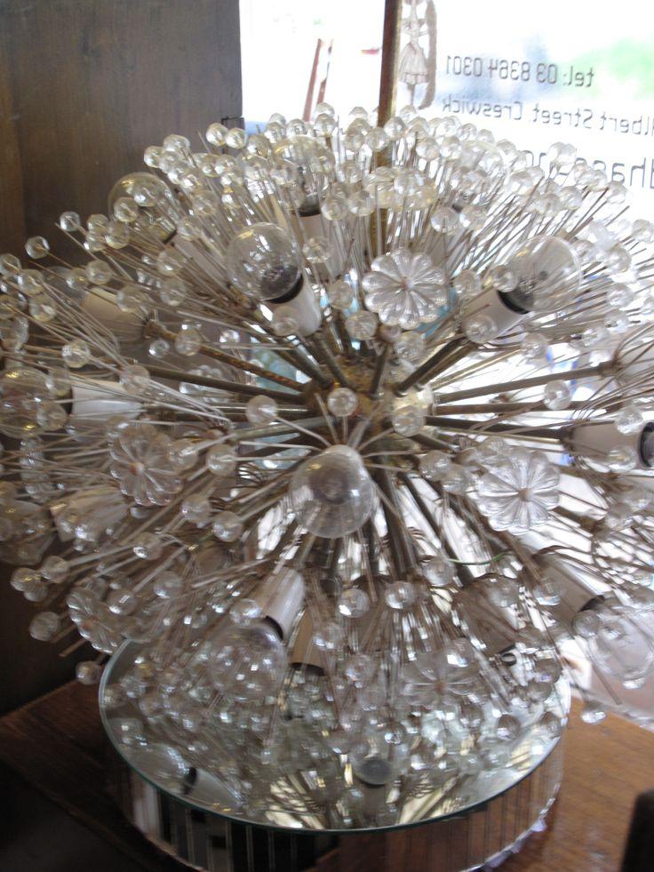Wow, this Eames era Sputnik / Starburst amazing light fitting is something to behold!