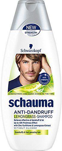 Schwarzkopf Schauma Anti-Dandruff Lemongrass Shampoo 250 ml / 8.4 fl oz (6-Pack) * More info could be found at the image url. #hairstyle