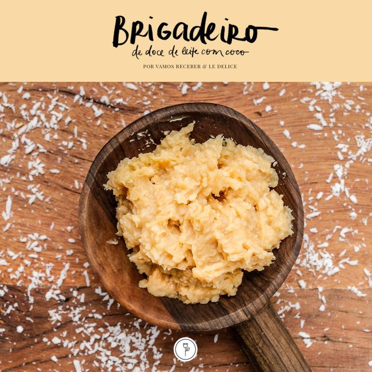 BRIGADEIRO DE DOCE DE LEITE COM COCO