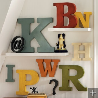Metal Letters For Wall Decor 105 best decorating with wall letters images on pinterest | home
