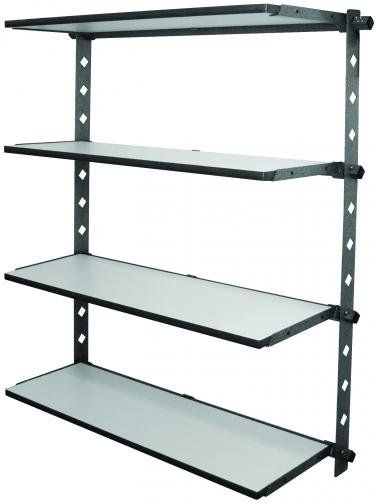 Monkey Bars Garage Storage Systems - Watsonville, CA, United States. Drop down shelves are great for smaller items you need to access more often