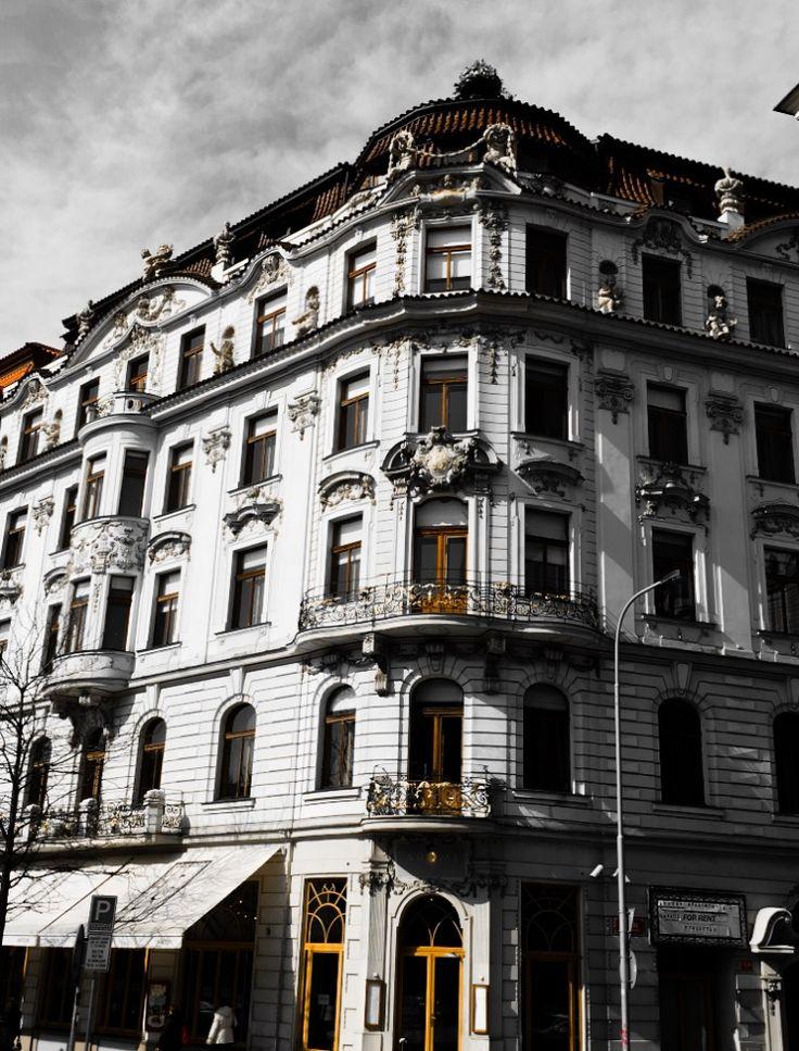 Townhouse. Prague. Vinohrady