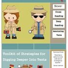 toolkit for digging deeper into texts