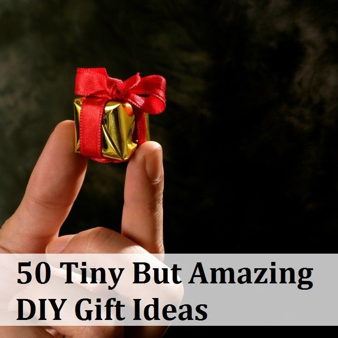 ♥ GENERAL - 50 Tiny But Amazing Gift Ideas